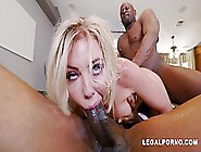 Gorgeous Blonde Babe,  Adriana Chechik Likes To Have Steamy Sex W