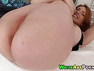 Great Looking Girl With Red Hair Is Getting Fucked In Front Of T