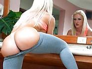 Big Butt Brazilian Blonde Lorena Fire Outdoor Sex