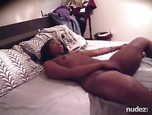 Ebony Girl With Small Tits And Hairy Hole Pussy Gets Missionary
