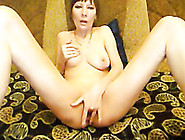 Busty Russian Seductress Sveta Is Masturbating For Me On Cam