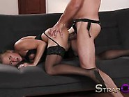 Strapon Romantic Double Penetration With Sex Toys