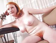 Hairy Redhead Teen Strips 2