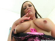 Horny Older Women Play With Their Tits And Twats