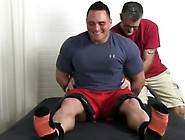 Men Cumming Mens Feet Gay Tough Wrestler Karl Tickled
