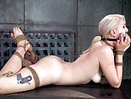 Blonde Honey Ella Nova Tied Up And Teased With Toys