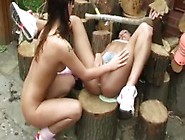 Cute Teen Girl And Public Agent Caught