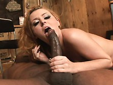 Horny Sophie Dee Welcomes Every Inch Of A Huge Black Stick Up He