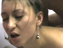 Fine Looking Brunette Girl Does Anal Doggystyle On Private Tape