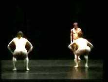 Nude Ballet Dancing