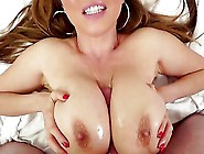 Kianna Dior Is An Asian That Is Blessed With Huge Tits.  They Are