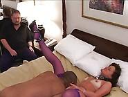 Cuck Hubby Enjoy His Wife Fuck Bbc