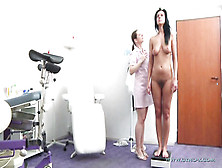 Hairy Cunt Careen Gets Gyno Exam And Rectal Check Up
