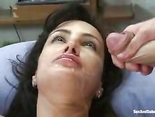 Abused Milf Lisa Ann Receives A Jizz Load Across Pretty Face