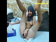 Hot Sexy Muslim Babe Masturbating On Webcam