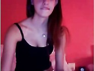 Teen Playing On Stickam