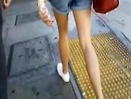 Asian Babes Leg Art 3: Overalls Shorts