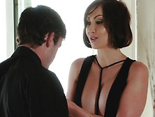 Yasmin Scott Her Nephew Big Cock Inside Lovehole