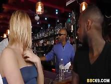 Black Cock Slut Kate England Gets Anal Gangbang