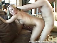 Sexy Blonde Porn Tape At Home