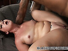 Tramp-Stamped Chubby Porn Star Cherish Ley Gets Blacked Up On Vi