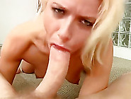 Blonde Babe Gets Face Fucked