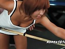 Korea1818. Com - Korean Slut Milf Fucked At Pool Hall