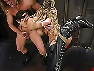 Bdsm Anal Sex With A Booty Brunette Shy Love