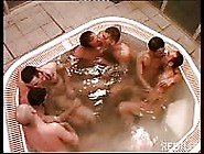 A Group Of Italian Boys In A Hot Tub