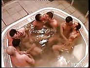 A Group Of Italian Boys In A Hot Tub