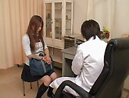 Lustful Japanese Twat Is Fingered Hard In Medical Porn Movie