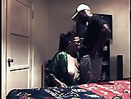 White Step Mom Busts Black Step Son Jacking Off,