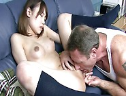 Ibuki Harushi Gets Her Pussy Polished By Horny Mature Stud