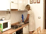Mom Son Kitchen Fuck