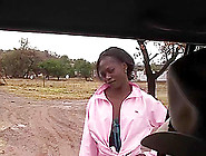 Hot Chocolade African Babe Fucked In The Savannah At My Wild Jee