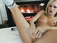 Blond Haired Svelte Cute Amateur Girl Was Using Toy For Her Solo