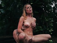 Double Dildo Bondage And Punish His Wife Raylin Ann Is A Sex