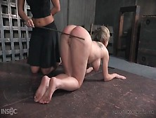True Caning Leaves Her Ass Marked And The Girl In Pain