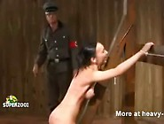 Brutal Nazi Whipping