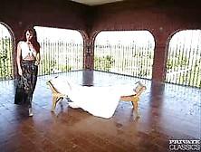 Privateclassics. Com - Hairy Melissa Hill Fucks In A Threesome
