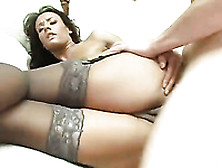 Doggystyle Anal Sex Scene With A Captivating Brown-Haired Milf