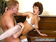 Mature Woman Is Doing It With Her Piano Teacher While Her Husban