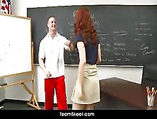 Hot Schoolgirl Melody Jordan Fucked In The Classroom