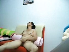 Asian Girl Gets Her Hairy Pussy Eaten Out And Missionary Fucked