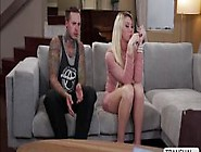 Horny Transgirl Aubrey Kate Is Seduced By A Punk Guy To
