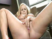 Blonde With Truly Big And Juicy Boobs Angel Wicky Is Naughtily F