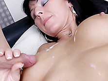 German Mom Fisting And Swallow Cum
