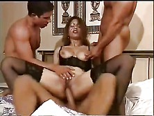 Stunning Stocking-Clad German Milf Enjoying A Great Foursome