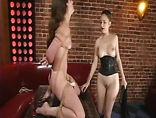 Handsome Lena Ramon Featuring Real Bdsm Action
