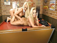 Crazy Pornstars Dannii Harwood And Lucy Summers In Best Blonde,
